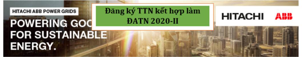 Chương trình TTTN kết hợp ĐATN cùng công ty Hitachi-ABB